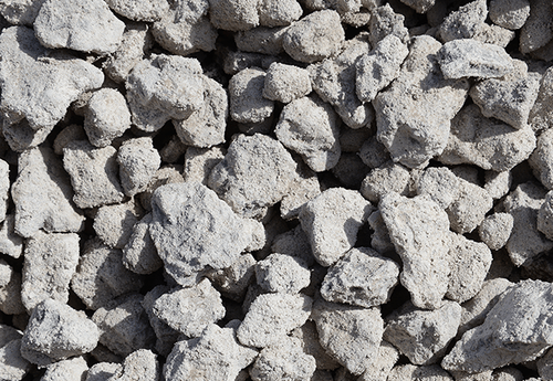 RCA R-3   Oversize Recycled Concrete Aggregate (per yard) $35.00